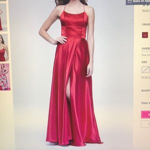 Betsy and Adam prom dress